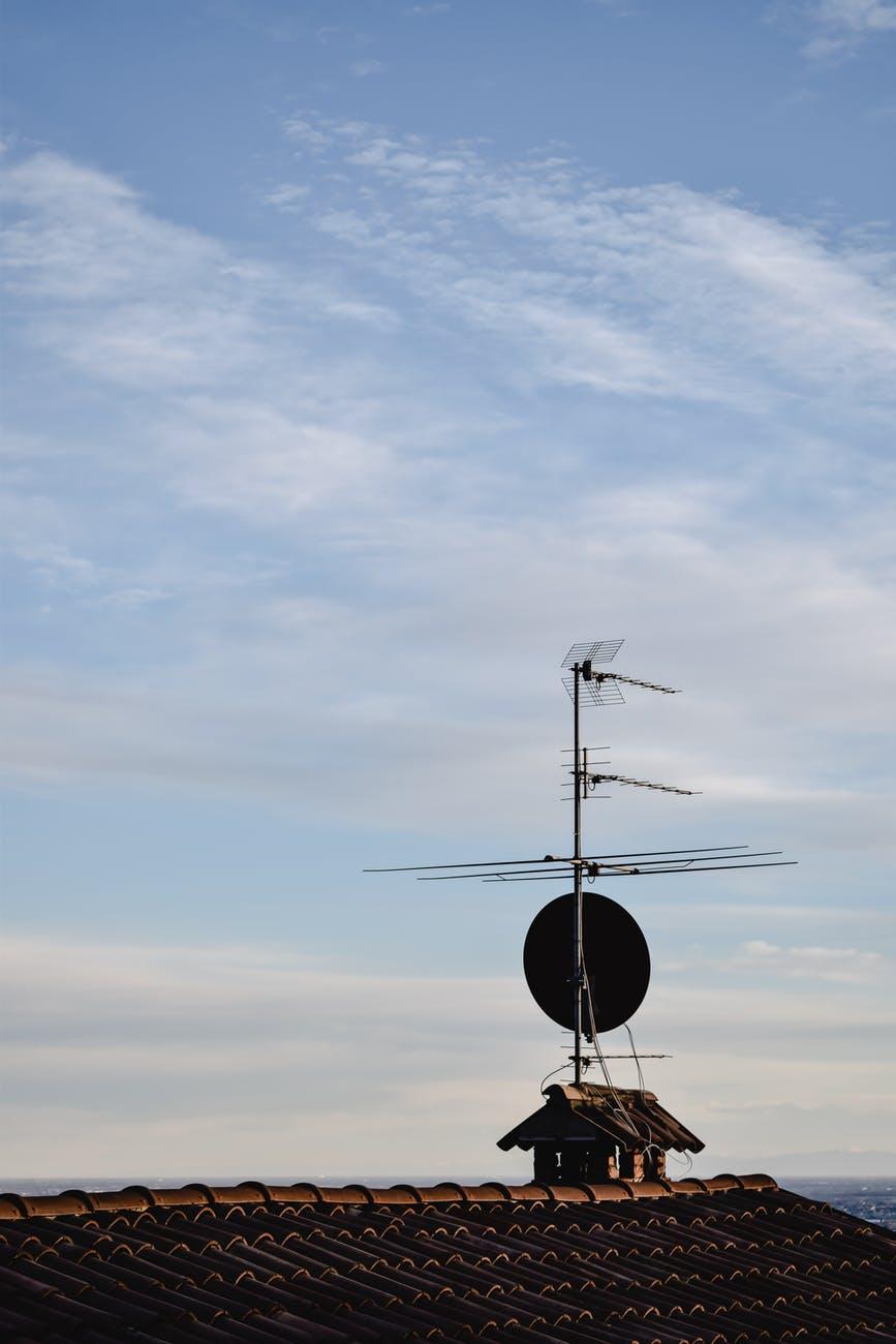 Antenne râteau individuelle